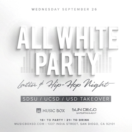 Sun Diego presents: All White Party