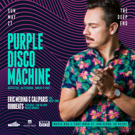 The Deep End presents: Purple Disco Machine