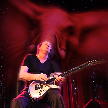 Adrian Belew (seated show)