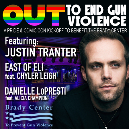 OUT to End Gun Violence featuring JUSTIN TRANTER
