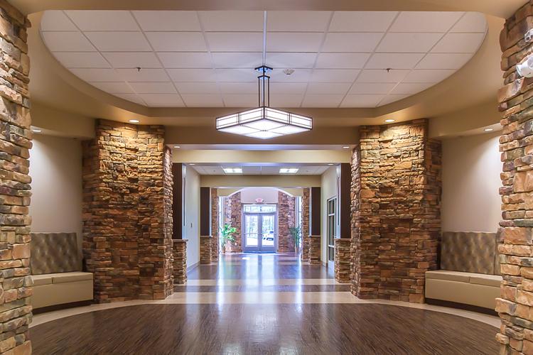 Cumberland Medical Center Interior Architecture