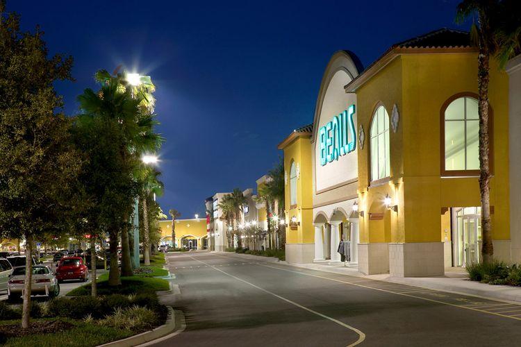 Meditteranean Style Retail Architecture