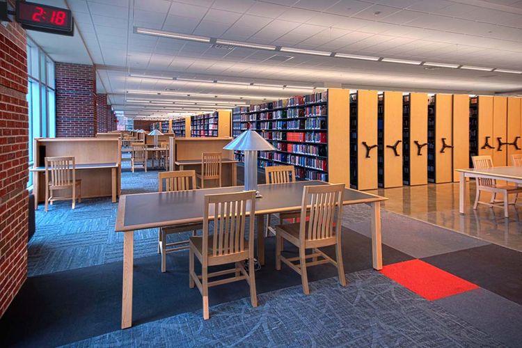 Modern Library Interior Design