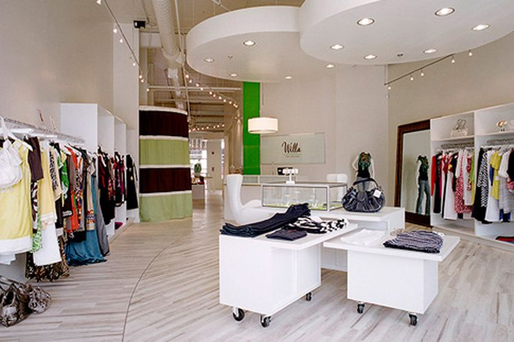 Modern Retail Interior Architecture