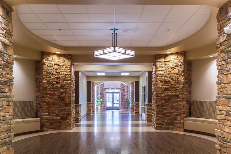 Cumberland Medical Center Interior Architecture