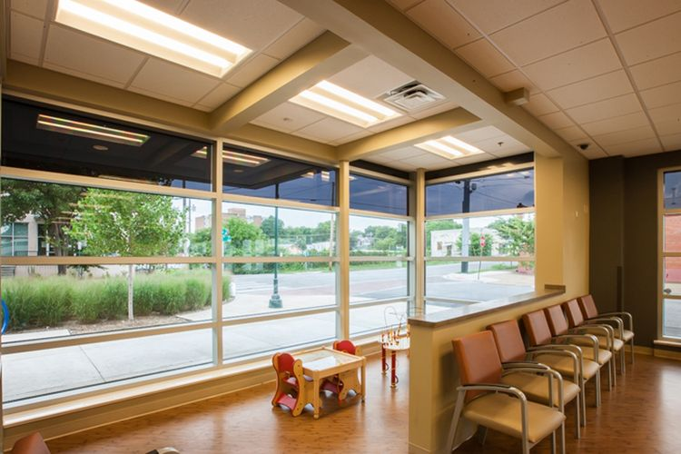 Homeless Healthcare Interior Design