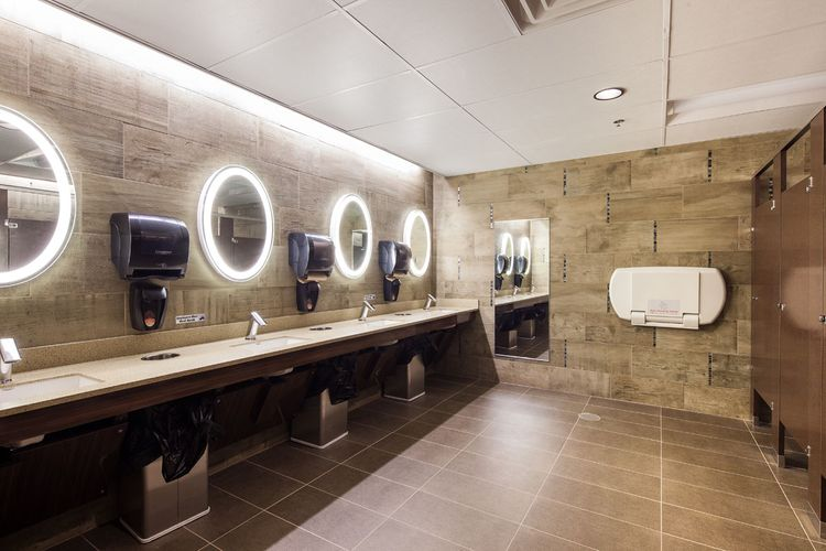 Ovation Movie Theater Bathroom Design