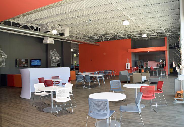 Office Architecture and Interior Design Concept