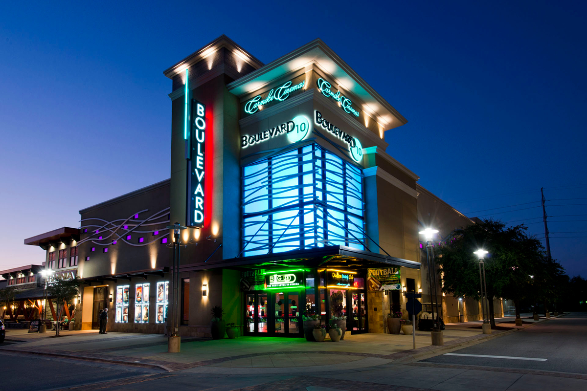 Our team has designed and built state-of-the-art entertainment facilities including cinemas, restaurants and more.