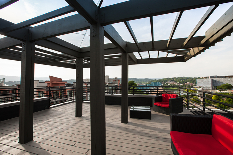 Rooftop Deck Chattanooga Tennessee
