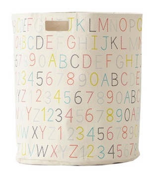 Alphabet Hamper