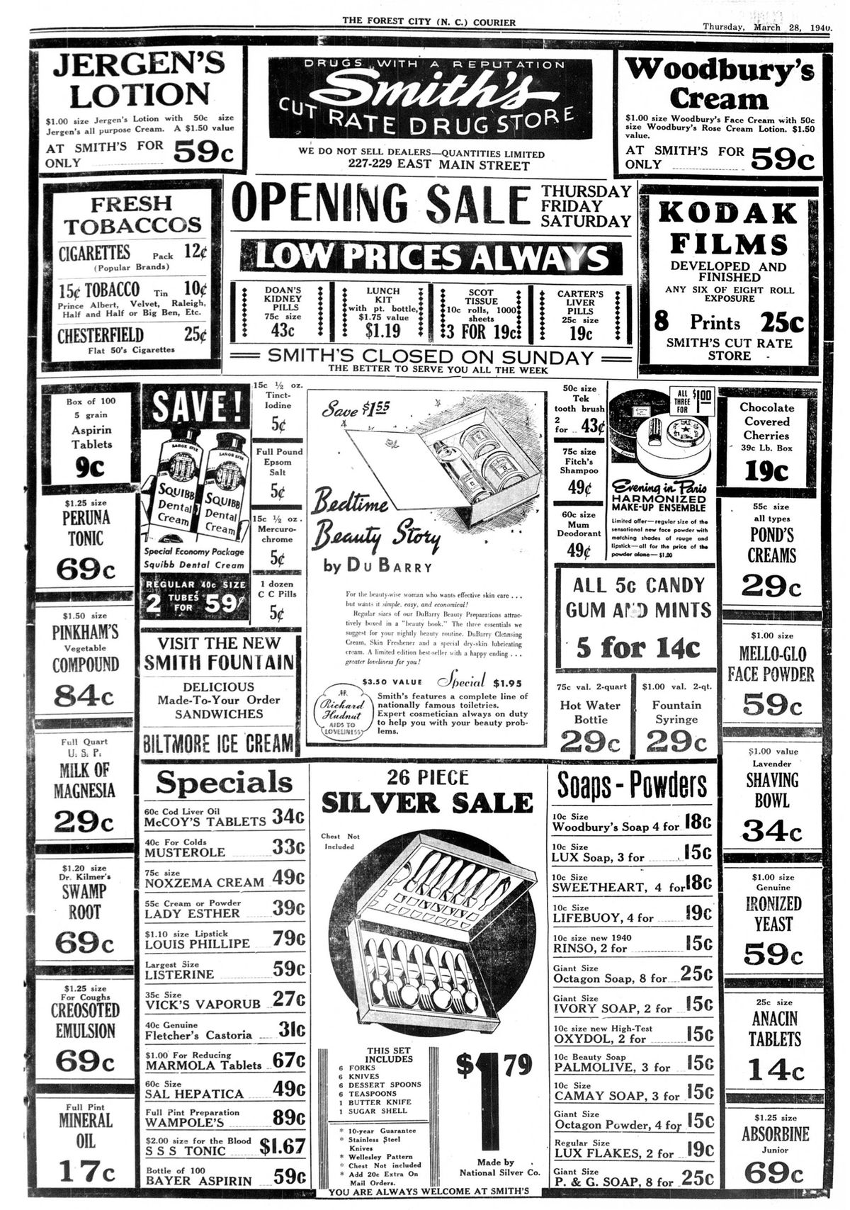 Smith's Cut Rate First AD FC Courier.jpg