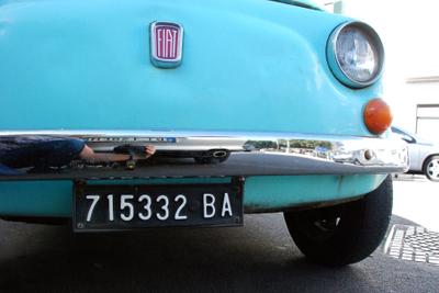 Alberobello turquoise Fiat