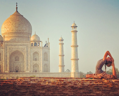 Rachel at the Taj.jpg