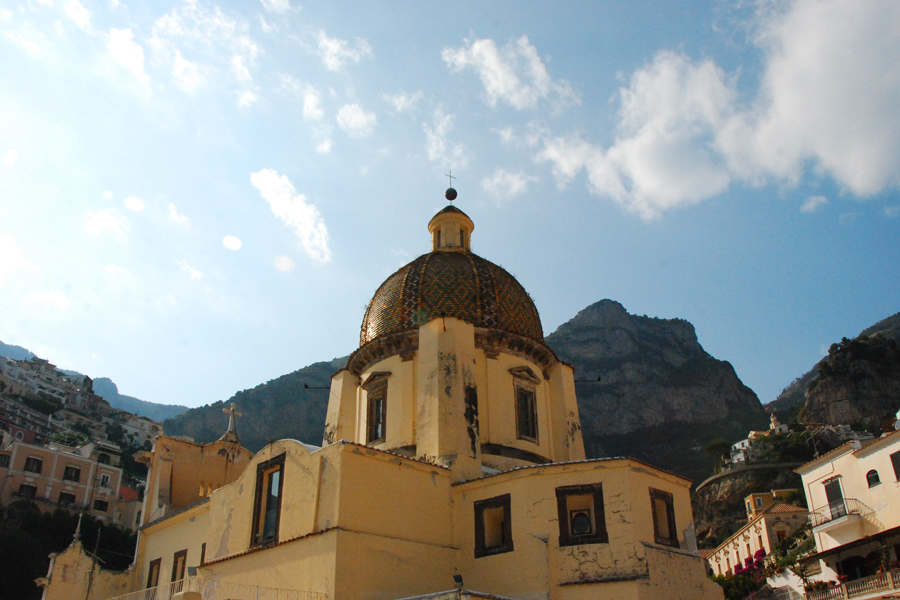 Positano church