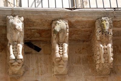 Lecce balcony