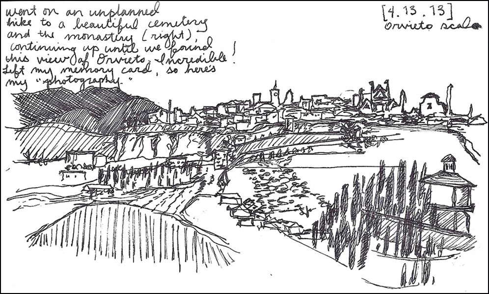 Lillian Cooper, Orvieto Unplanned Hike.jpg