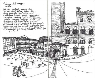 Lillian Cooper, Siena Piazza del Campo.jpg
