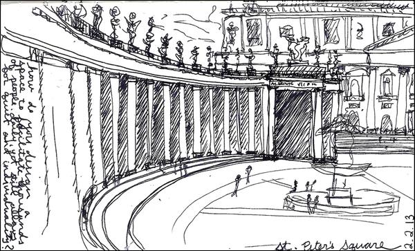 Lillian Cooper, Rome Saint Peters Square a.jpg