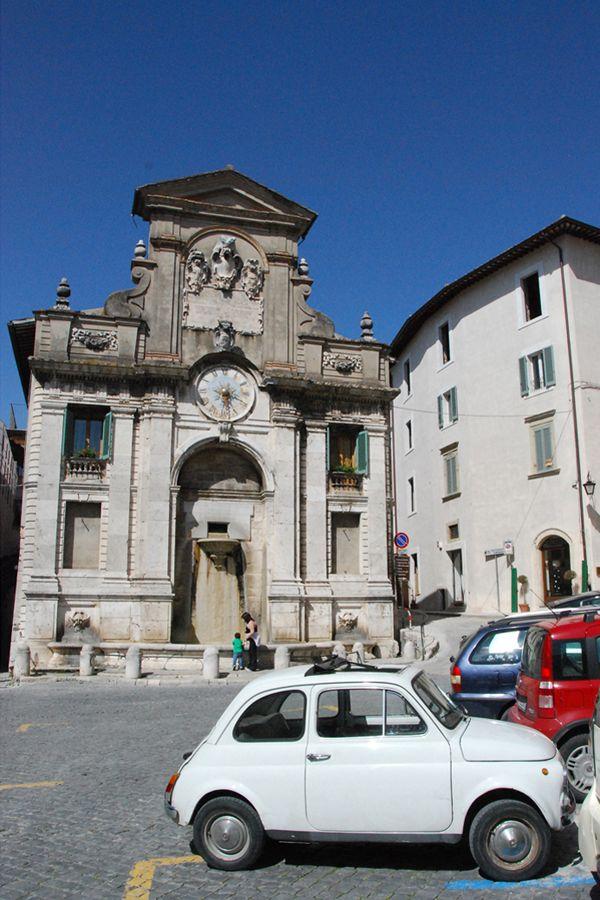 Umbria, white Fiat