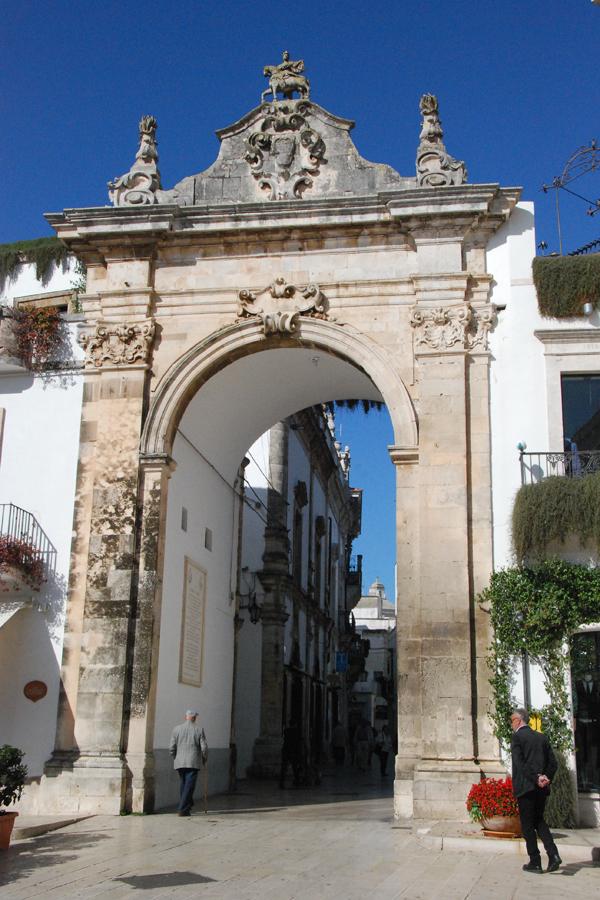 Martina Franca city gate