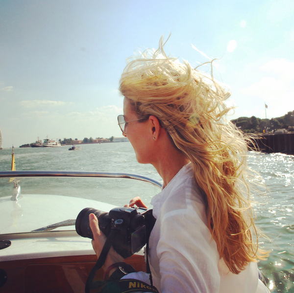 photographing in Venice