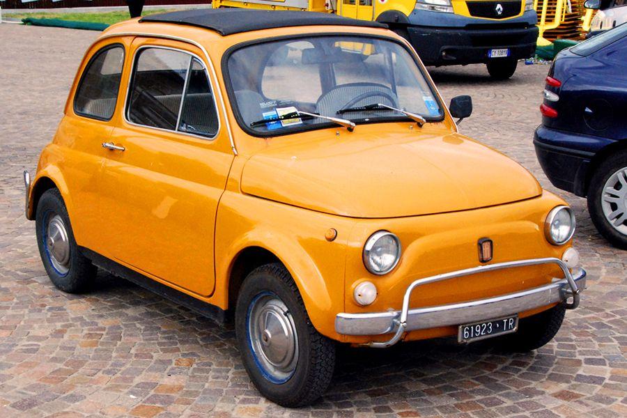 Umbria, orange Fiat