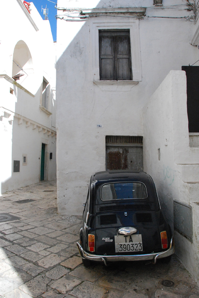 Martina Franca black Fiat