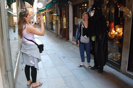 Our Casanova becomes a tourist attraction