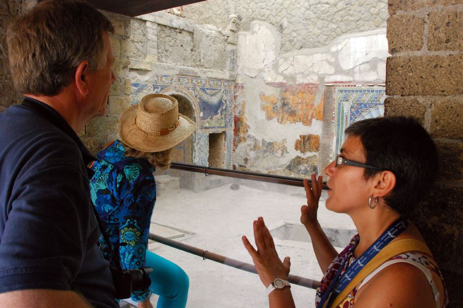 at Herculaneum with Maria Laura.jpg