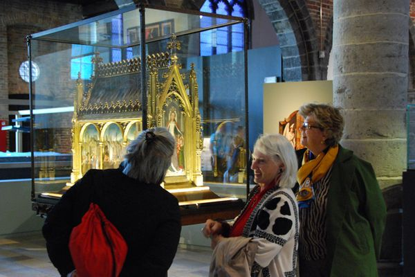 With Shrine of Saint Ursula in Bruges