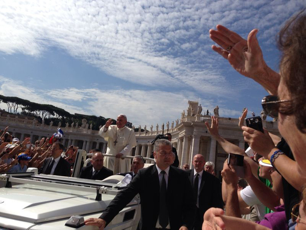 Front Row for the Pope.jpg