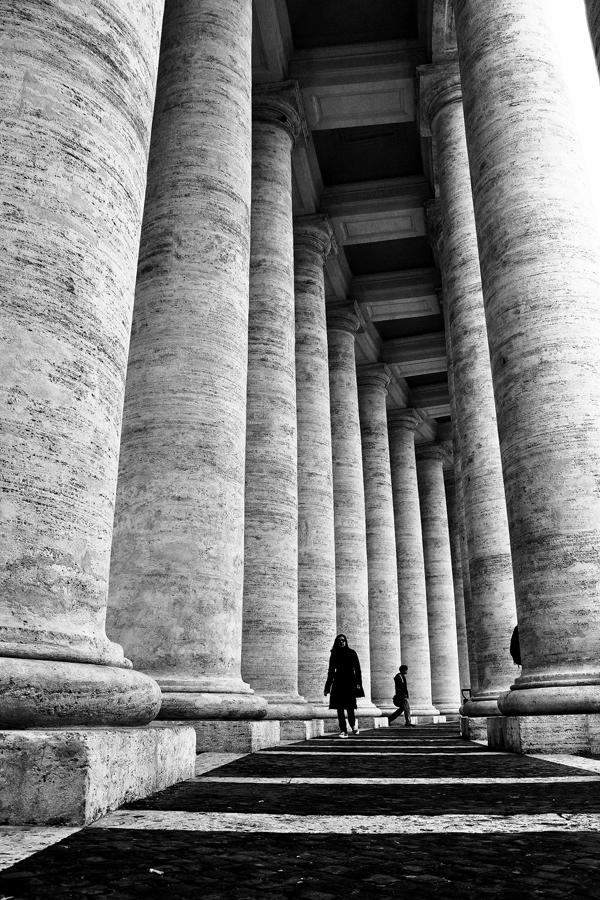 Lillian Cooper, Vatican Colonnade by Bernini.jpg