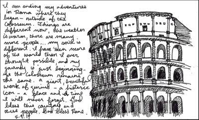 Lillian Cooper, Rome Colosseo.jpg