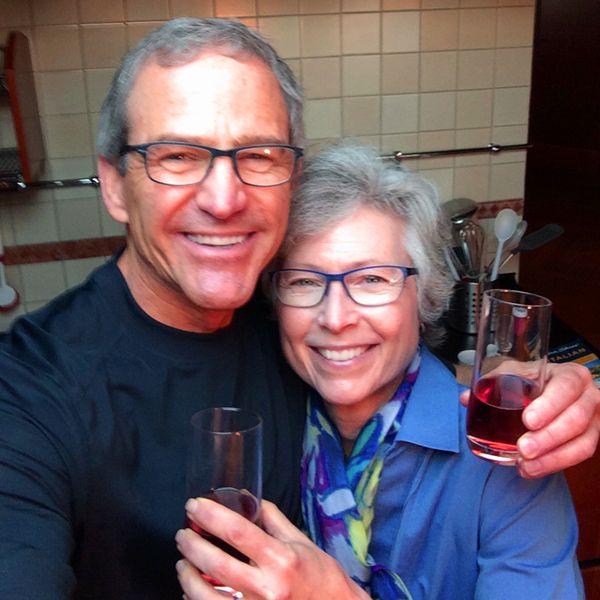 Carol and Steve in Venice