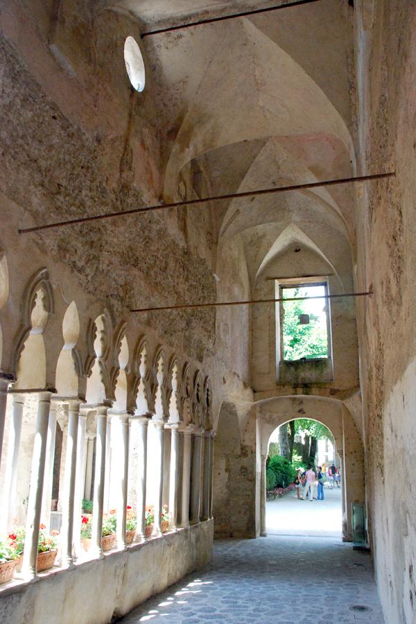 Villa Rufolo cloister