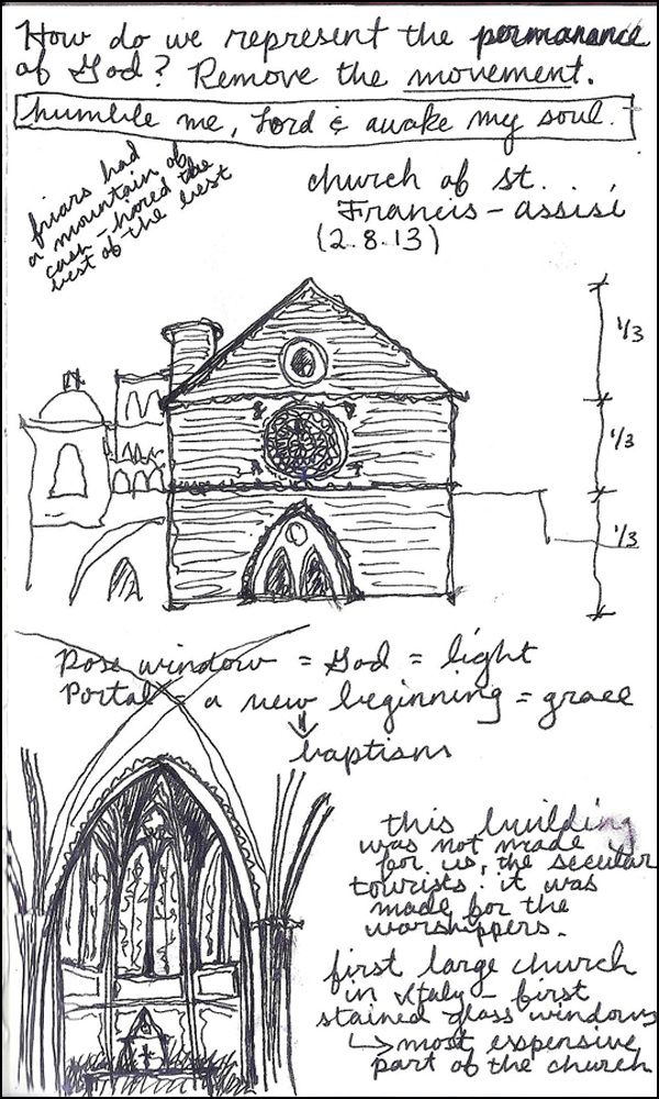 Lillian Cooper, Assisi drawing.jpg