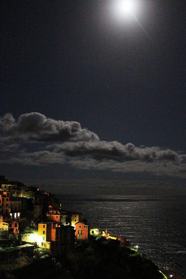 Lillian Cooper, Cinque Terre Corniglia at Night.jpg