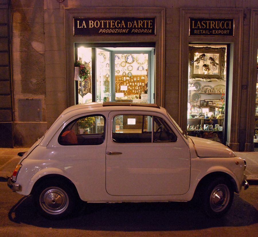 Florence, white Fiat