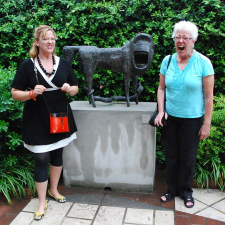 At the Peggy Guggenheim