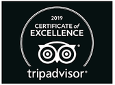 The Red Brick Tavern receives Certificate of Excellence 2019