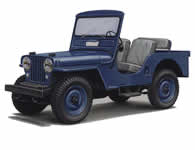 Jeep CJ3A Tub / Body