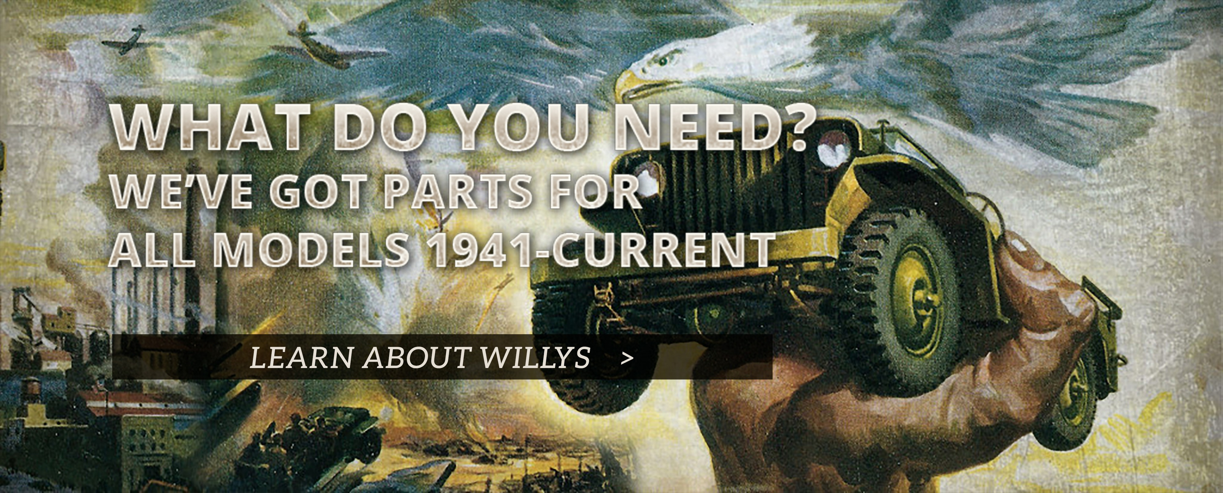 Willys Overland Jeep Repli-Tubs