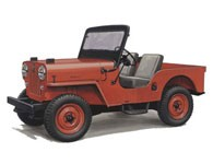 Jeep CJ3B Tub / Body