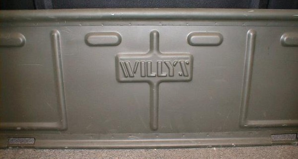 Willys Jeep Tailgate