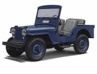 Jeep CJ3A Tub / Body