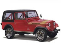 Jeep CJ7 Tub / Body