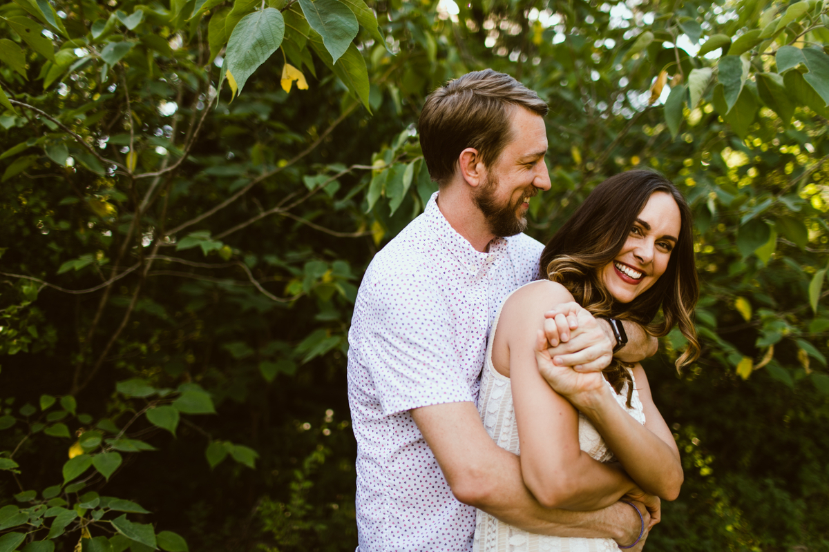 bull creek engagement pictures