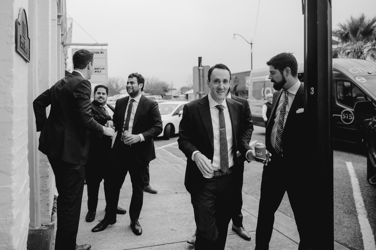 groom arriving austin