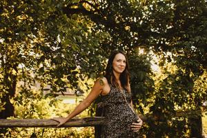 maternity portrait austin texas